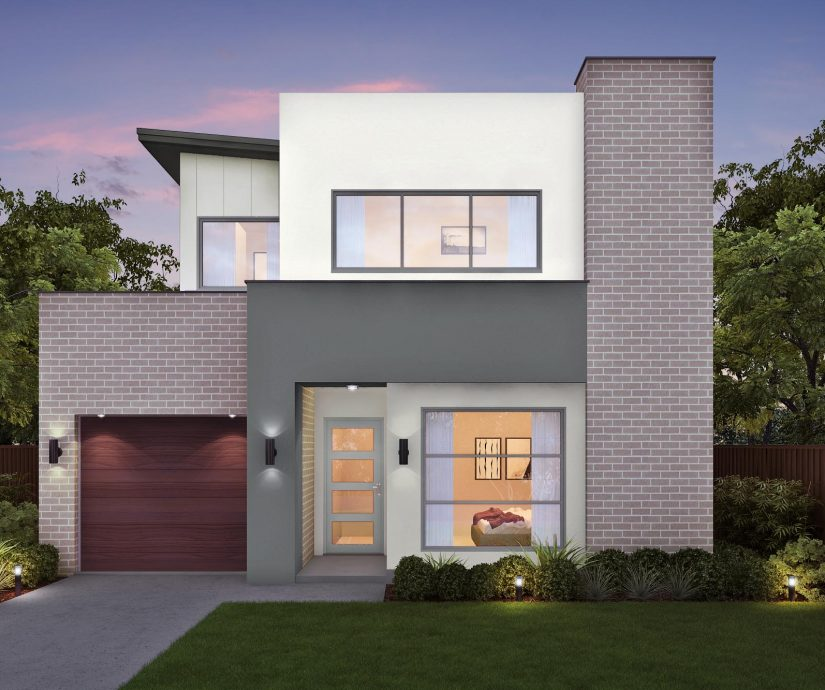 Small Two Story House Design: Modern Double Storey Homes Designs