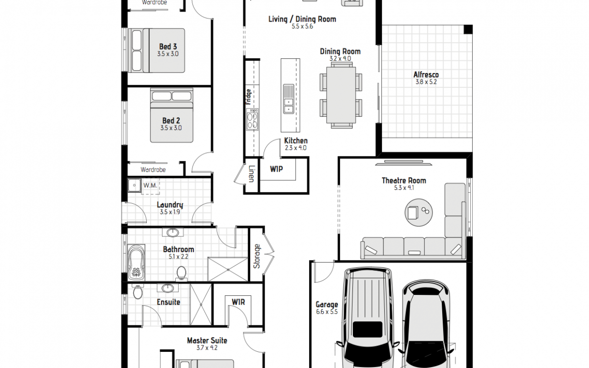 House Design With Theatre Room